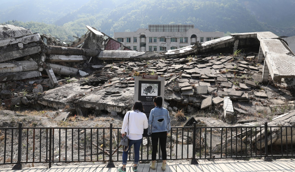 after the Sichuan earthquake